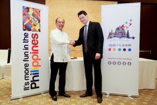 Tourism Board of The Philippines and Agoda.com