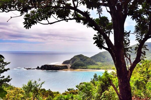 Overlooking Dicasalarin Beach Cove