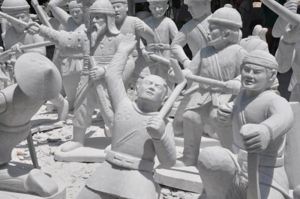 4 Marble Sculptures