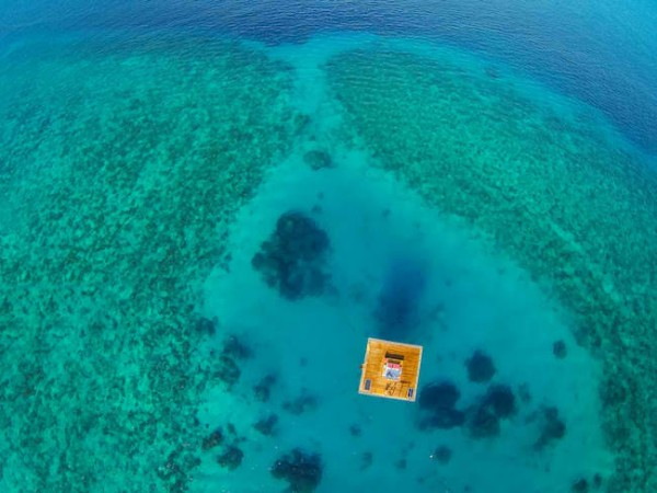 Floating Hotel Room in Tanzania