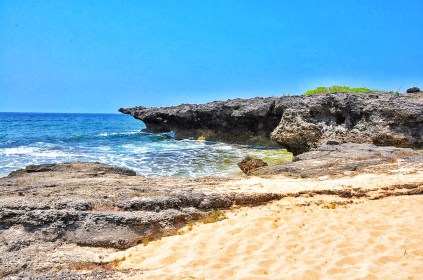 Nice beach in Patar Bolinao