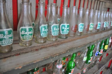 Collection of Old Cola Bottles