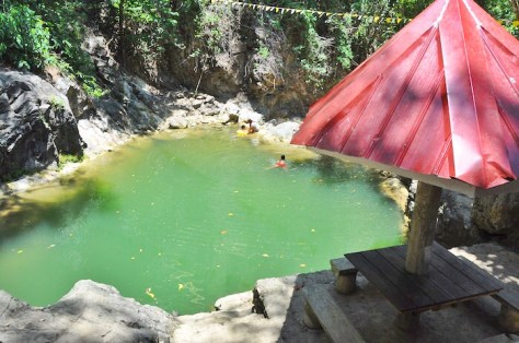 Trangkalan Falls in San Agustin Romblon