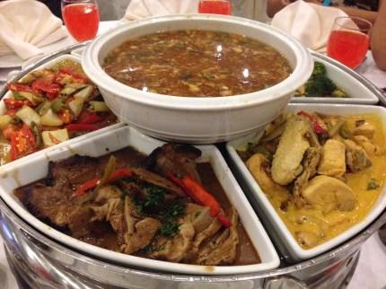 Dinner at The Everly Hotel Putrajaya