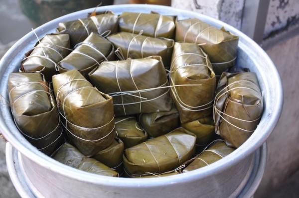 Freshly Cooked Tamales