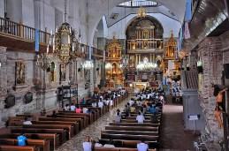 Inside the Parish Church of San Gregorio Magno