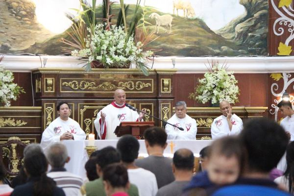 Kamay ni Hesus Healing Mass photo via FB page