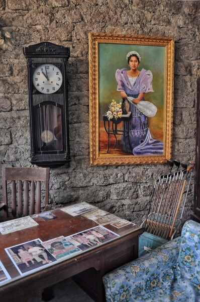 Old Doctors Clinic inside Alava Ancestral Home