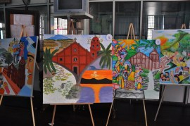 Painting Exhibit at the Municipal Building of Liliw Laguna