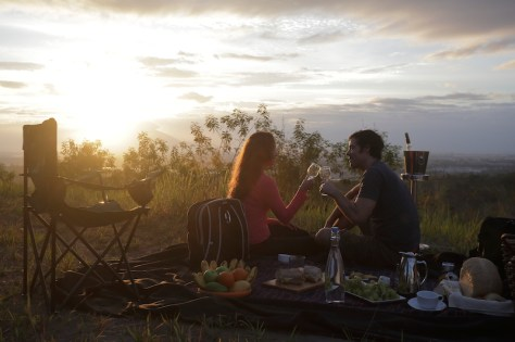 Start your day with a beautiful sunrise view at the Green Canyon