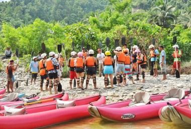 Whitewater Kayaking Safety Orientation
