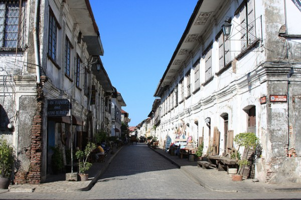 Beautiful Street in Vigan City
