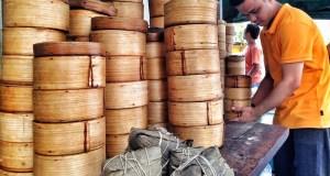 Choose your Dumplings at Ying Ying Tea House in Manila Chinatown