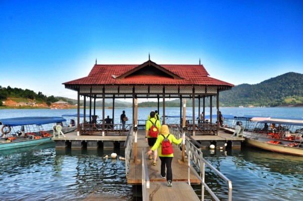 Lake Kenyir main jetty port