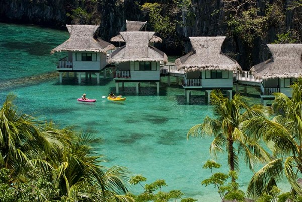 Miniloc Island Resort Water Cottages