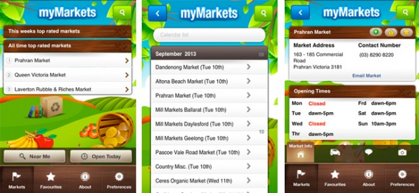 MyMarkets Vic App