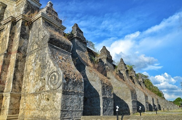 Paoay Stone Buttresses