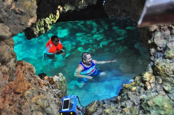 Cueva Subacuática de Puerto Galera