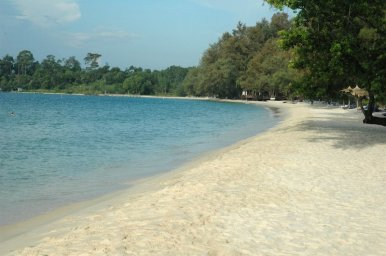 Sokha Beach on a quiet morning