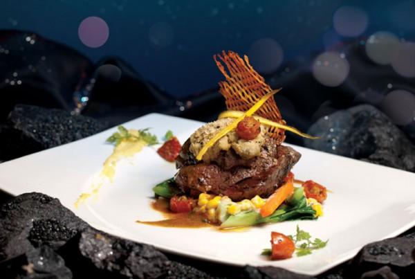 Atmosphere 360 Restaurant Alacarte Food Choices