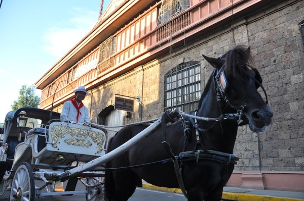 Calesa Ride in Intramuros Manila
