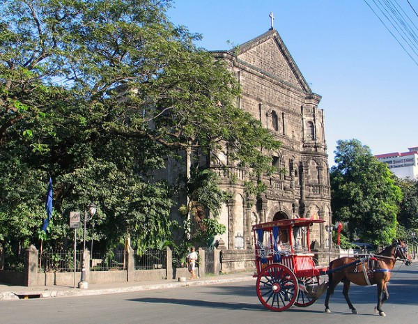 Calesa in Malate Church