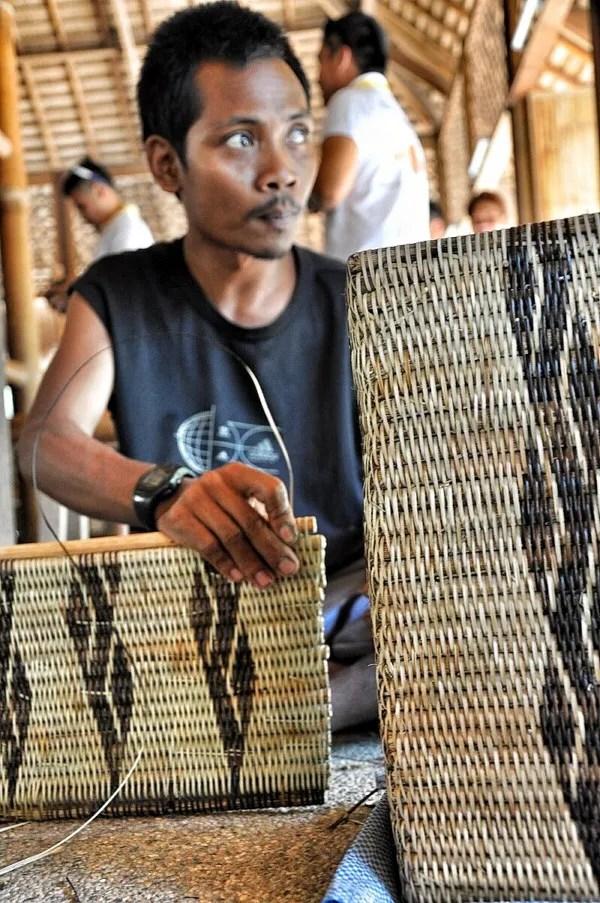 Mangyan Basket Weaver