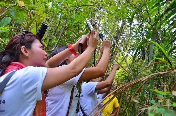 PHILTOA Members inside Philippine Tarsier Sanctuary