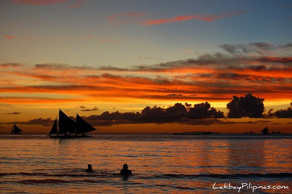 Romantic Sunset in Boracay