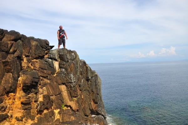 Melo Villareal in Jomalig Island