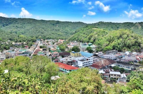 Overlooking the town of Romblon