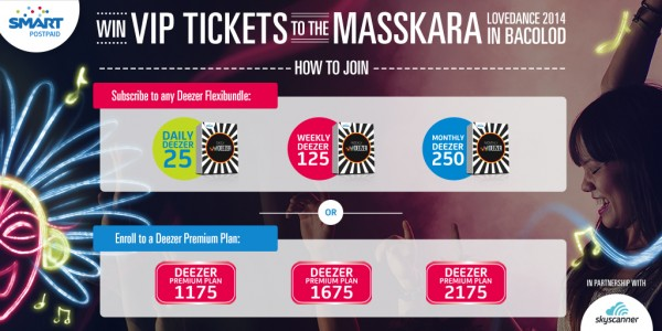 How to Join Deezer Masskara 2014 Promo