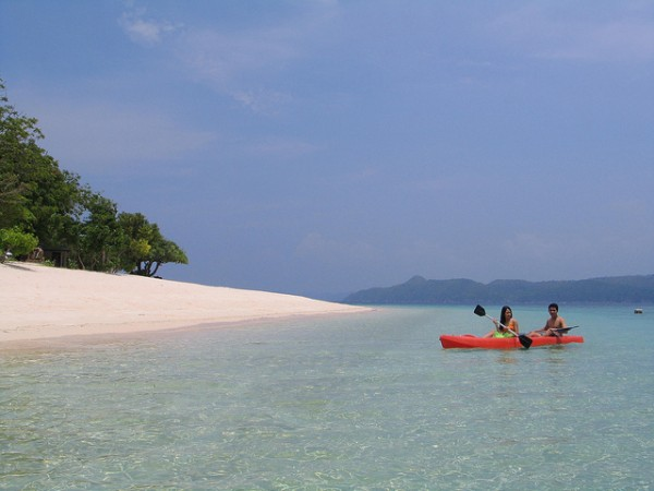 Kayaking in Coron Palawan
