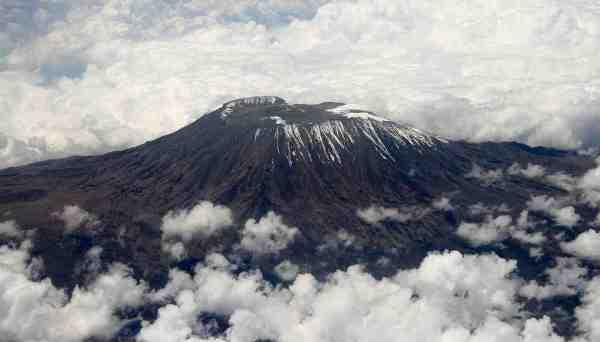 Mount Kilimanjaro (photo by Muhammad Mahdi Karim via Wikipedia)