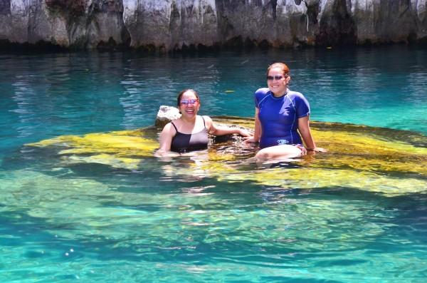 Swimming in Kayangan Lake
