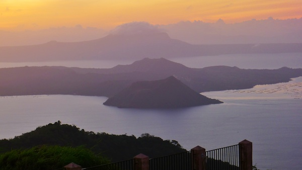 Taal Volcano from Taal Vista Hotel