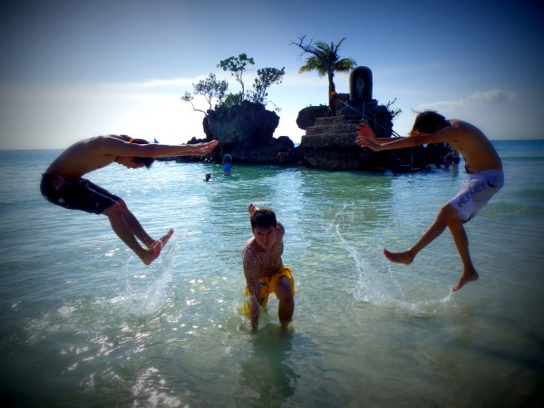 Classy Jump Shot in Boracay Philippines
