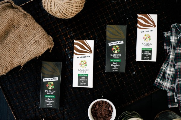 Dark Chocolate Bars from Kablon Farms