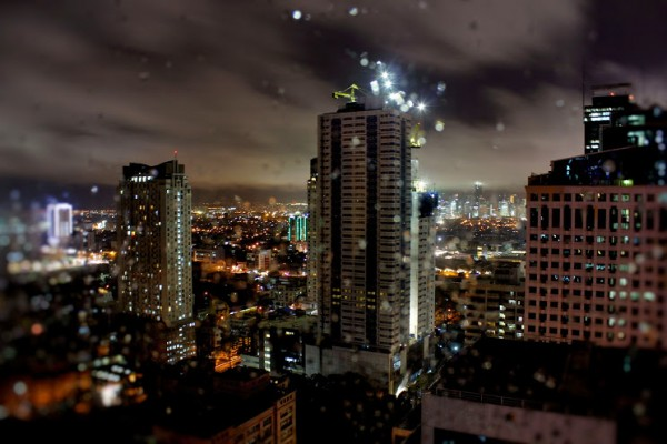 Ortigas Center at Night