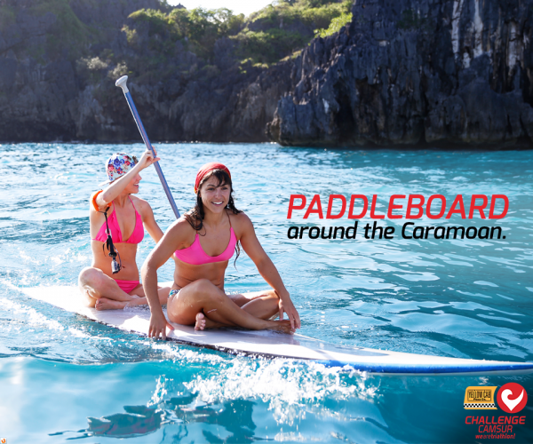 PaddleBoard around Caramoan