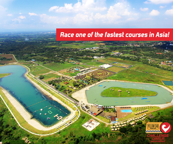 Race one of the fastest courses in Asia