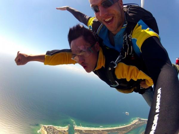 Skydiving in Gold Coast Australia