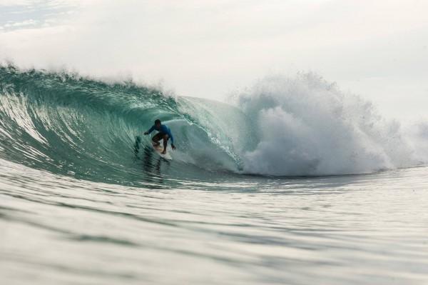 Surfing in Puraran Beach by Puraran Surf Beach Resort FB