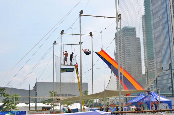 Trapezing in BGC
