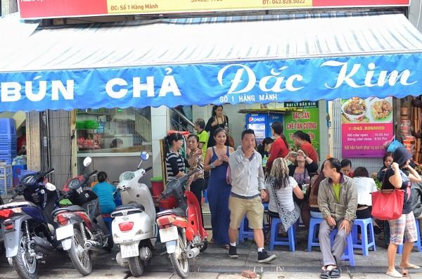 Most Popular Bun Cha Restaurant in Hanoi