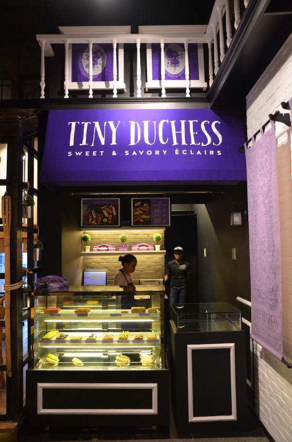 Tiny Duchess Sweet and Savory Eclairs
