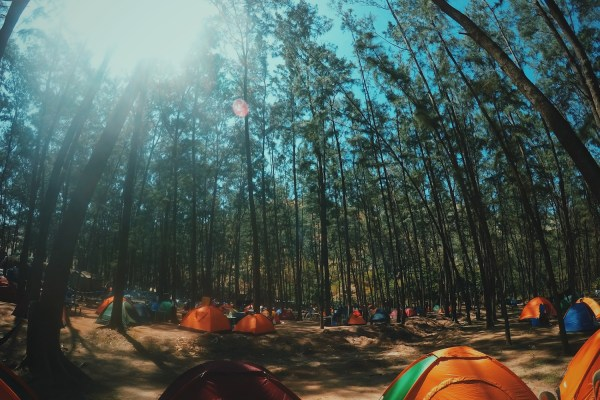 Camping in Anawangin photo by Ryzy Bustos