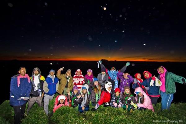 Group Shot at Night photo by Paul Louie Serrano