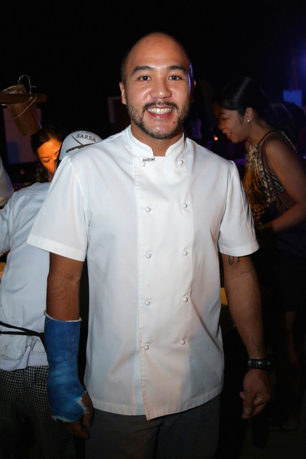 Guest celebrity Chef JP Anglo
