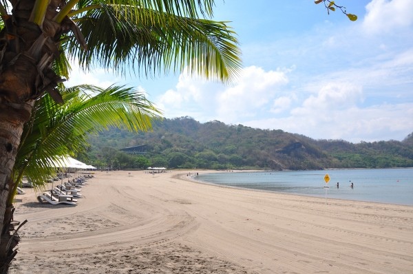 In front of Pico de Loro Beach Club